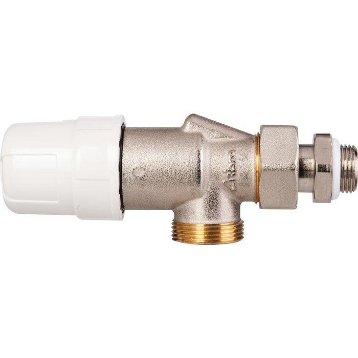 Robinet  thermostatique de radiateur - Équerre inversé - Mâle-1