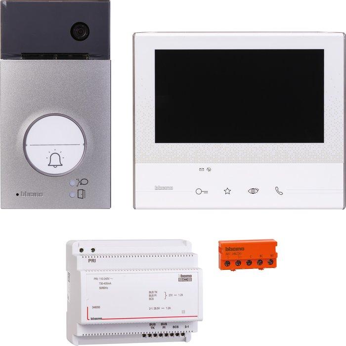 Kit portier résidentiel vidéo couleur Classe 300 E - Mains libres - 1 appel