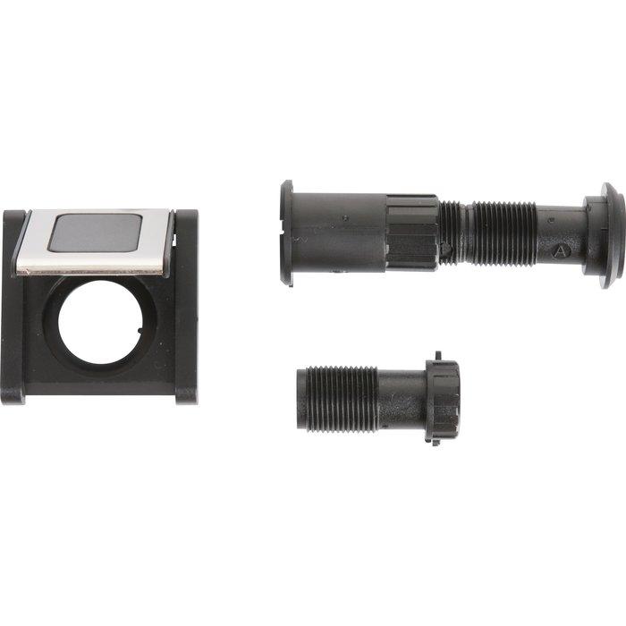 Kit de guichet optique - Angle 170° - Argent / Or