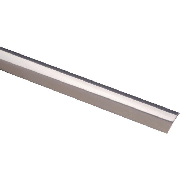 Bande de seuil - Acier / Inox poli - Largeur 30 mm