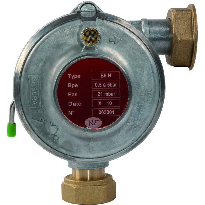 Régulateur gaz B6N - 6 m³/h