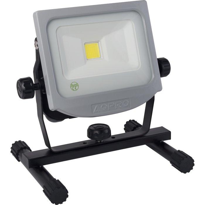 Projecteur à LED mobile - Rechargeable - Puissance 20 W