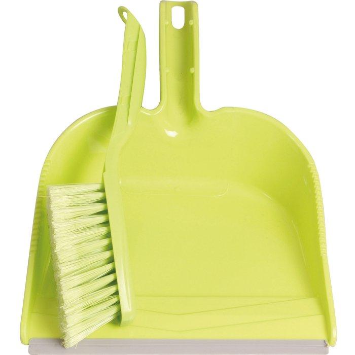 Pelle et balayette à poussière - Plastique-2