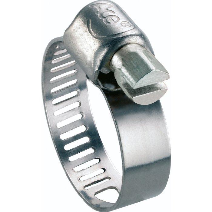 Collier de serrage W2 - Bande perforée - Acier zingué-inox-4