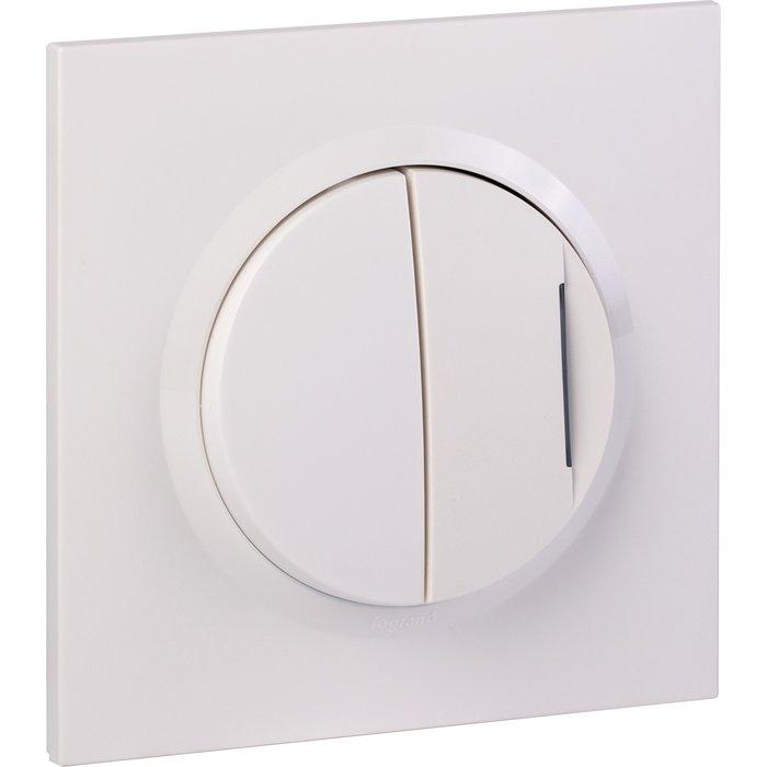 Transformateur pour 5 fonctions lumineuse + plaque carrée et griffes - Dooxie one - Blanc-2