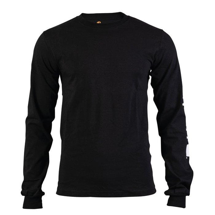 T-shirt de travail manche longue - Logo - Coton et polyester-5