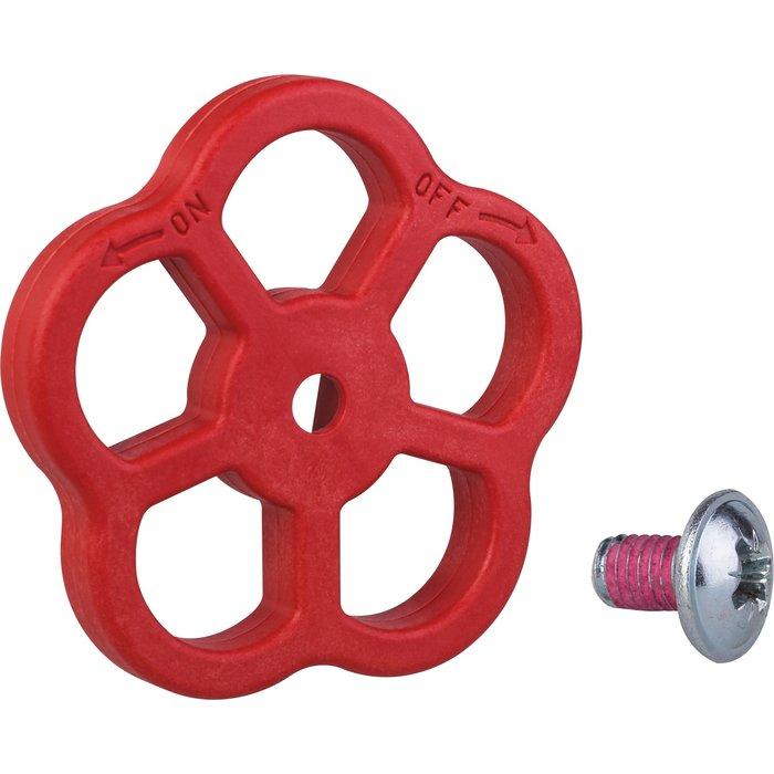 Volant pour tête de robinet d'incendie - Plastique - Pour tête à carré