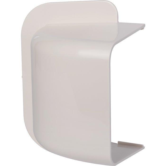 Amorce de mur plastique rigide blanc cassé RAL 9001