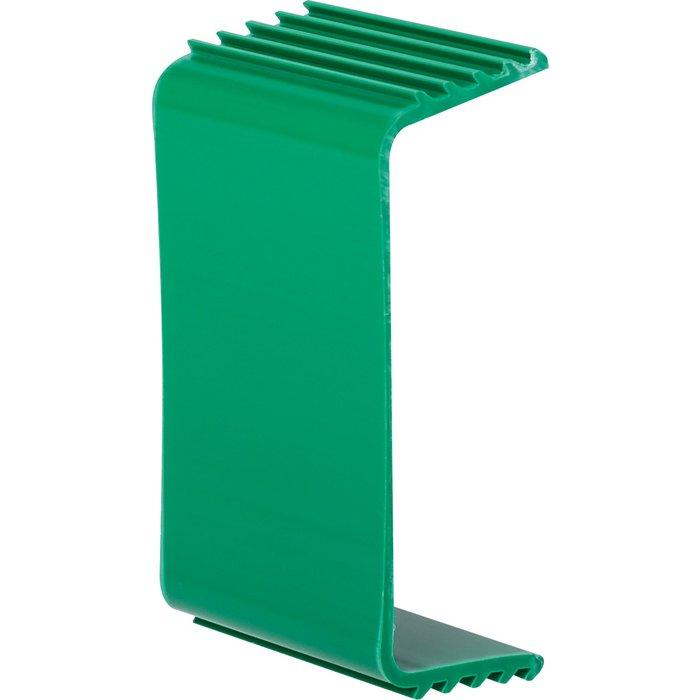Etrier de fixation de tube pour goulotte plastique rigide