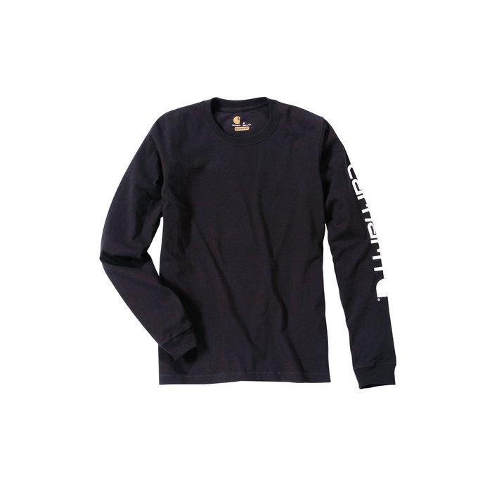 T-shirt de travail manche longue - Logo - Coton et polyester-3