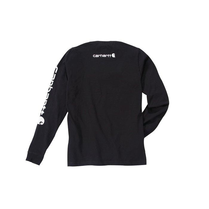 T-shirt de travail manche longue - Logo - Coton et polyester-4