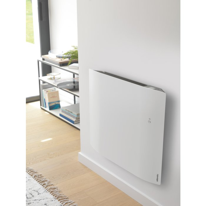 Radiateur électrique horizontal à chaleur douce Divali Connecté