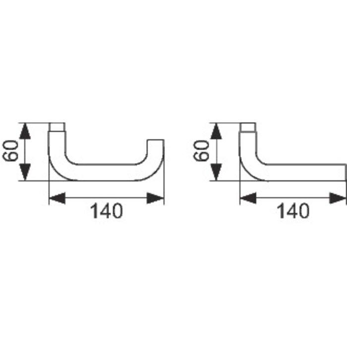 Serrure à code Pegasys 100 - Électronique - Inox-1