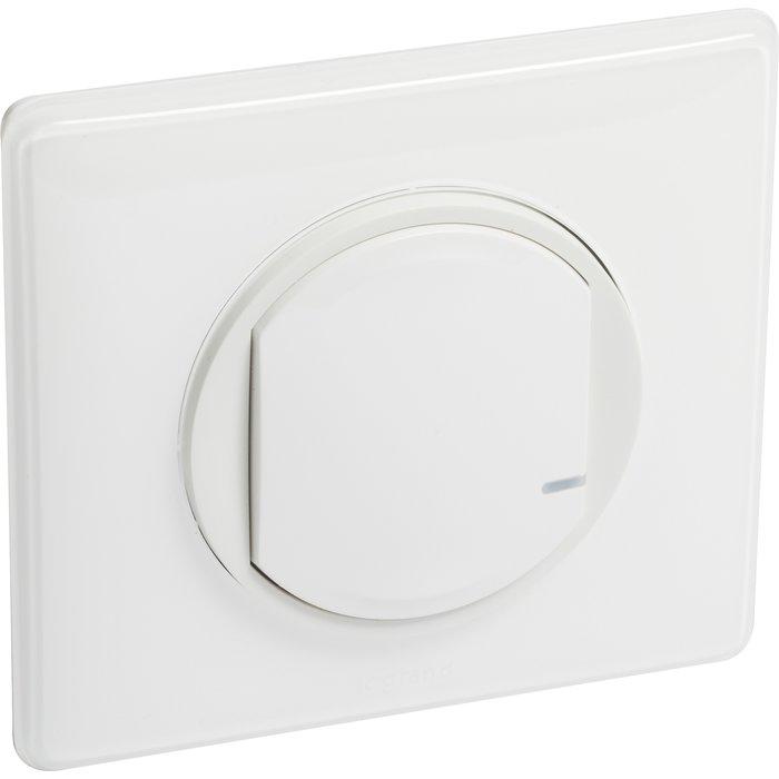 Commande sans fil pour éclairage ou prise connectée ou micromodule - Céliane with Netatmo - Blanc