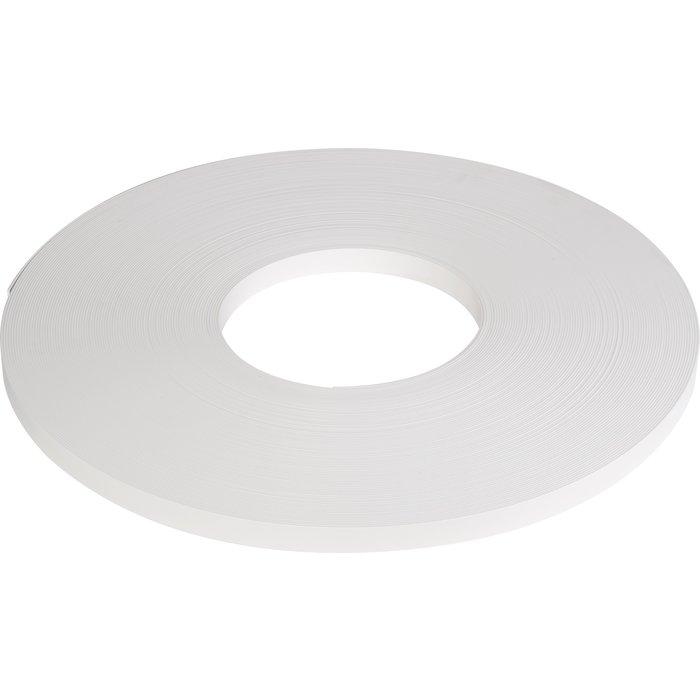 Chant épais pour meuble - Non encollé - PVC - Blanc - Lisse