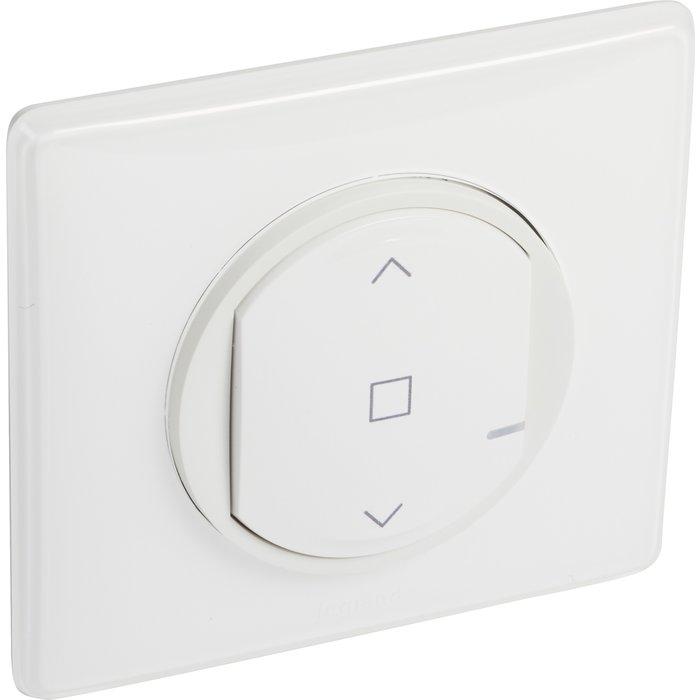 Interrupteur filaire connecté pour volet roulant - Céliane with Netatmo - Blanc