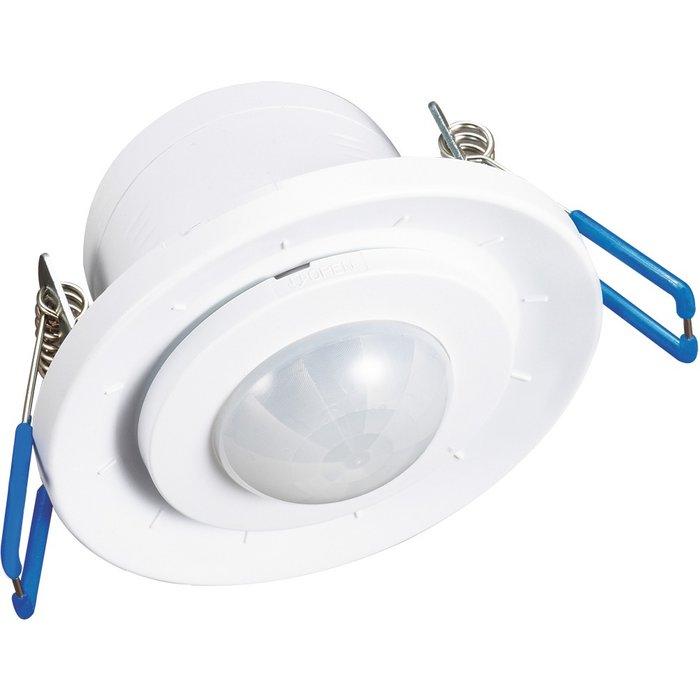 Détecteur de mouvement infrarouge - Encastrable - Blanc