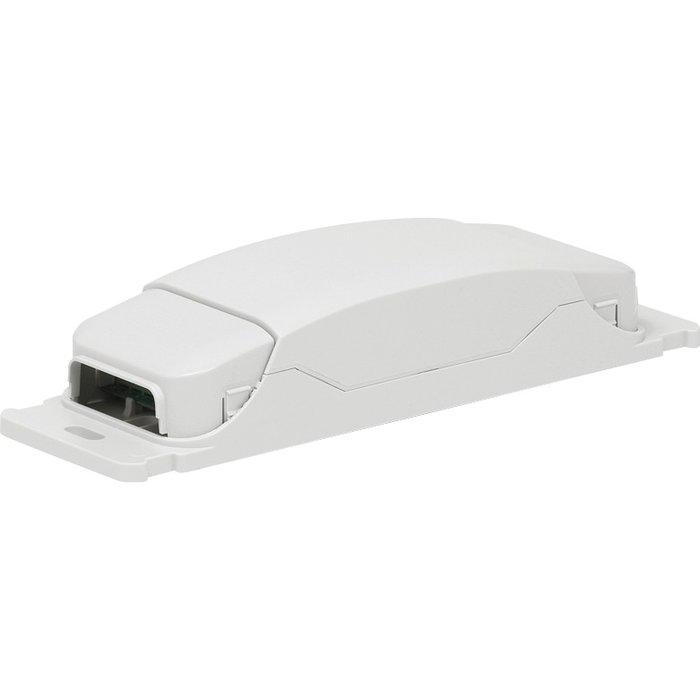 Module de télécommande pour applique tête de lit - Mosaic - 4 sorties - Blanc