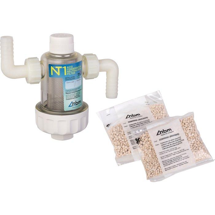 Filtre neutralisant des condensats