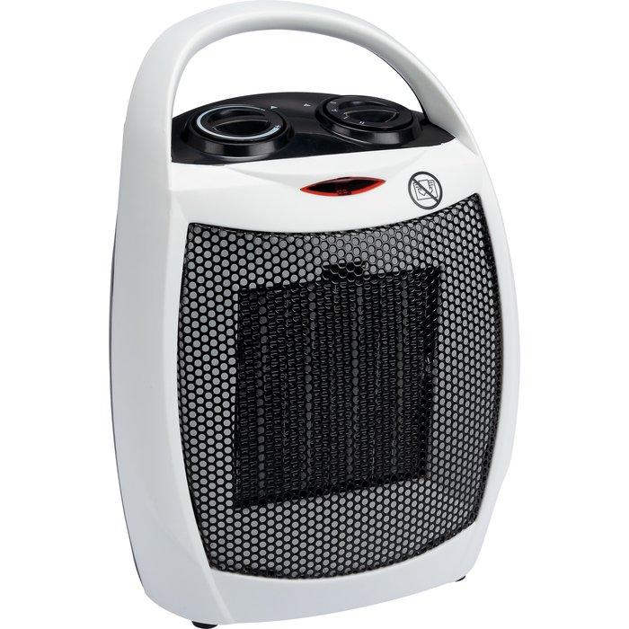 Radiateur soufflant - Céramique - Ventilation froide - Puissance 750 / 1500 W