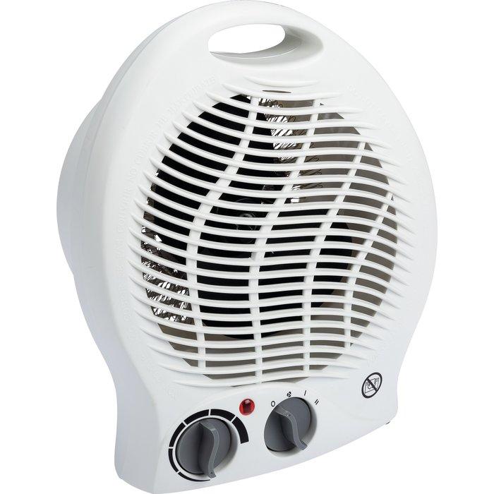 Radiateur soufflant d'appoint - Ventilation froide - Puissance 2000 W