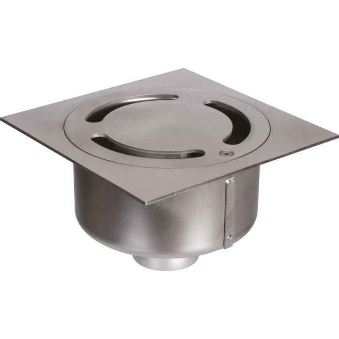 Siphon de sol Netdrain Standard - Inox 304 sablée