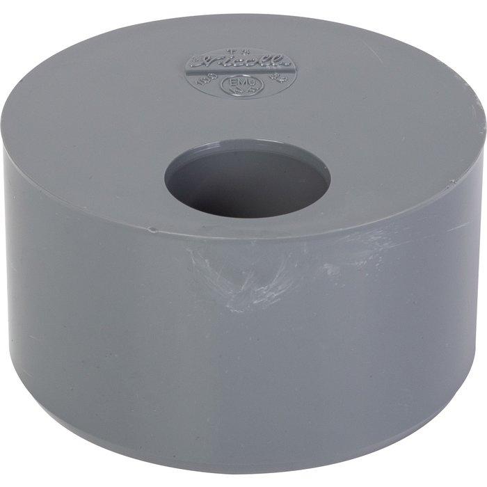 Tampon de réduction d'évacuation - PVC - 1 trou