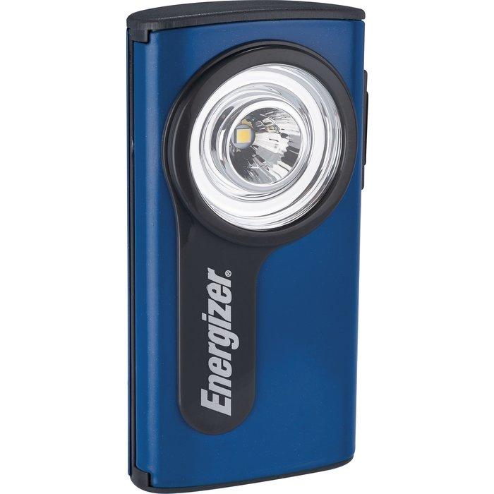 Lampe de poche à LED - Boîtier plat - Métal compact