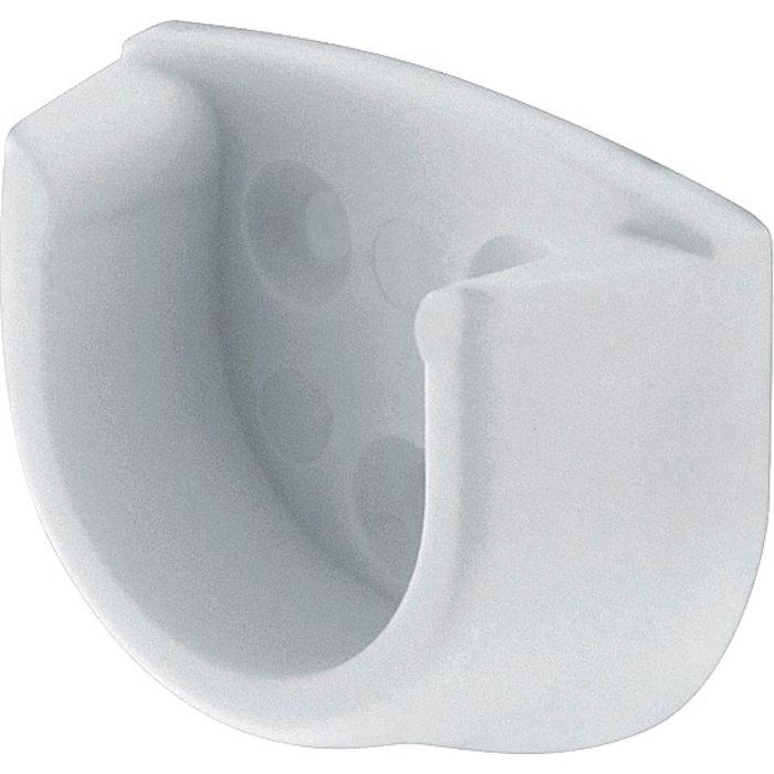 Naissance de tube rond - Blanc