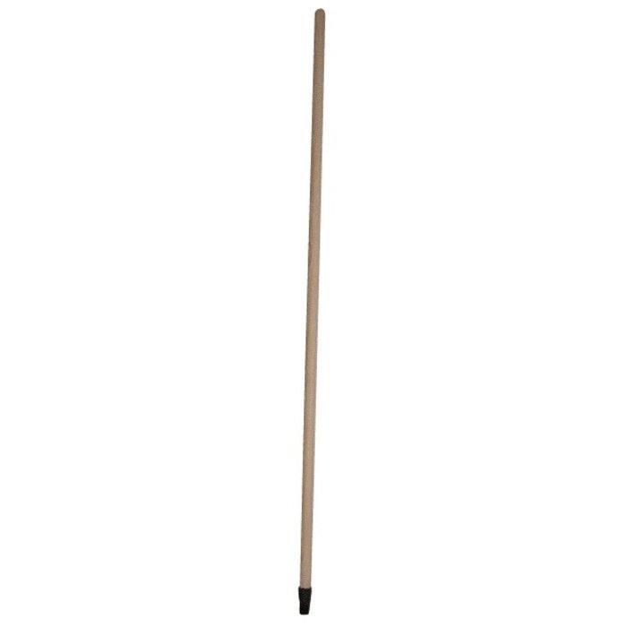 Manche à balai - Bois verni - 1,3 m-1