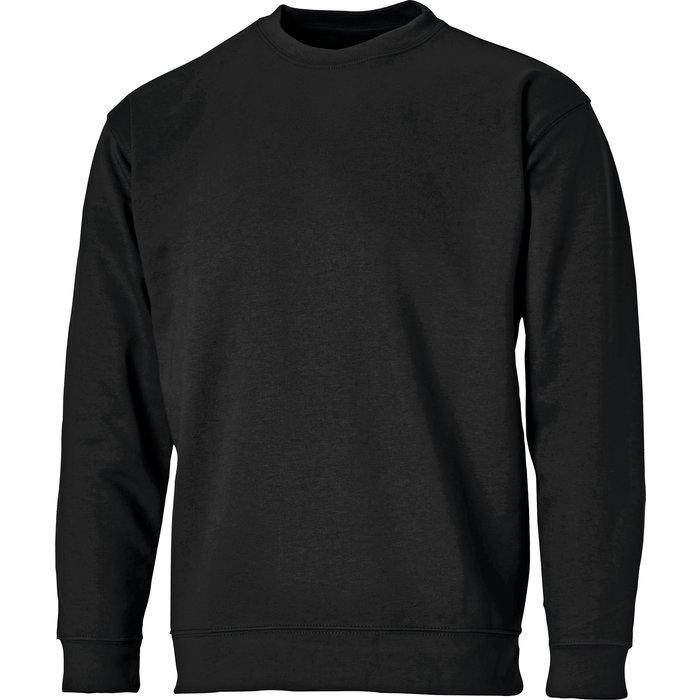 Sweat-shirt à col rond - Coton et polyester
