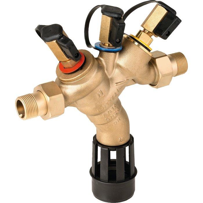 Disconnecteur à zones de pression réduites contrôlables