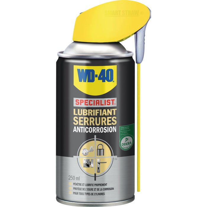 Lubrifiant serrures WD40