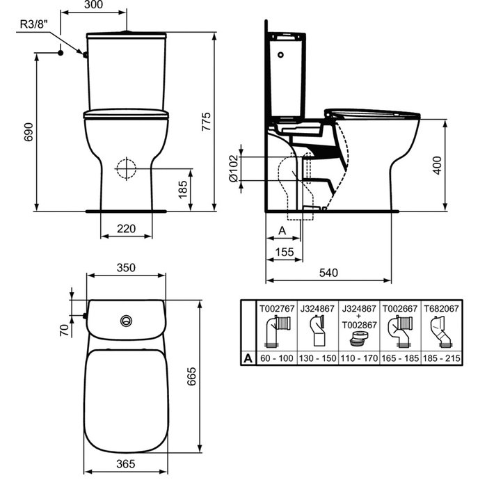 Pack WC Kheops-1