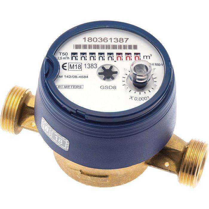 Compteur divisionnaire pour télérelevage - Modèle eau froide