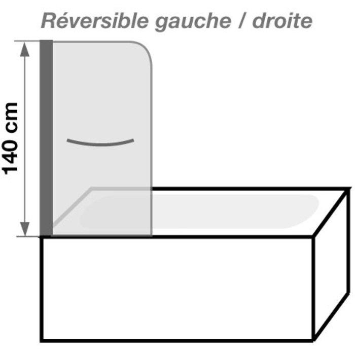 Pare-baignoire relevable Aqualift-1