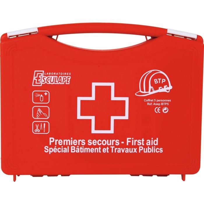 Coffret de secours 4/6 personnes - Spécial bâtiment-2