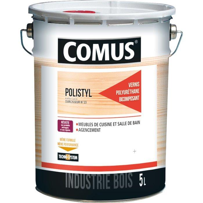 Vernis polyuréthane de finition Polistyl 2062 - Finition mate - 5 l