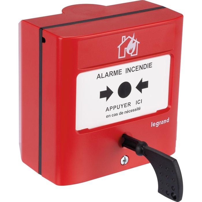 Déclencheur manuel pour équipement d'alarme incendie - Standard