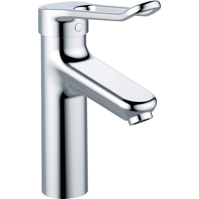 Mitigeur lavabo Okyris pro - Bec haut - Avec vidage