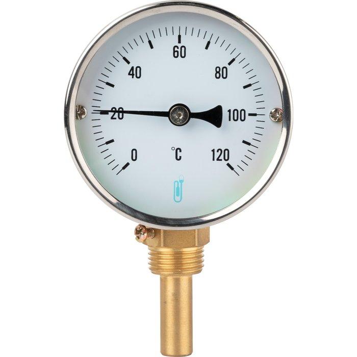 Thermomètre à cadran radial - Gradué 0 à 120°C