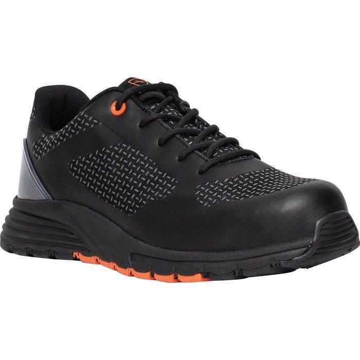 Chaussures basses de sécurité Soccer - Norme S1P - Noir-1