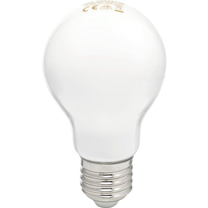 Ampoule LED standard dépolie à filament E27