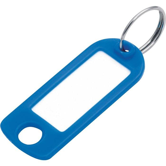 Porte-clés étiquette avec fenêtre - Plastique - Vendu par 100-2