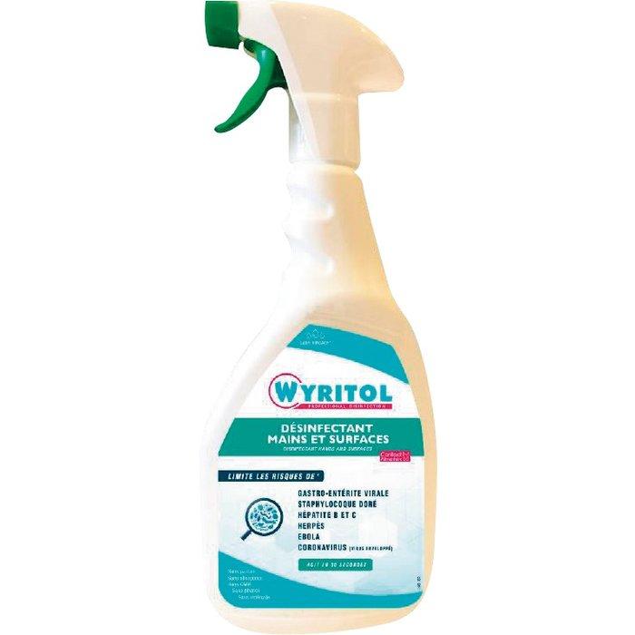 Spray désinfectant mains et surfaces