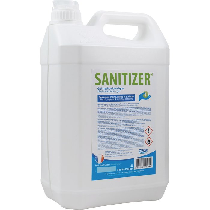 Gel hydro alcoolique Sanitizer