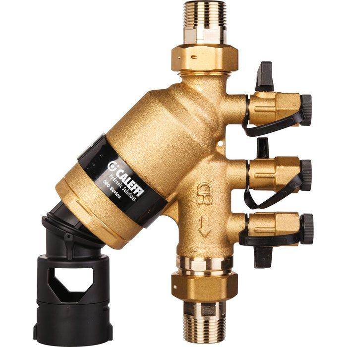 Disconnecteur à zone de pression réduite controlâble et orientable BA 580-1