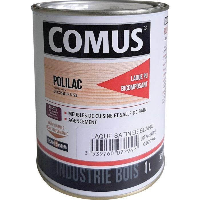 Laque polyuréthane Polilac bi-composant - 1 l