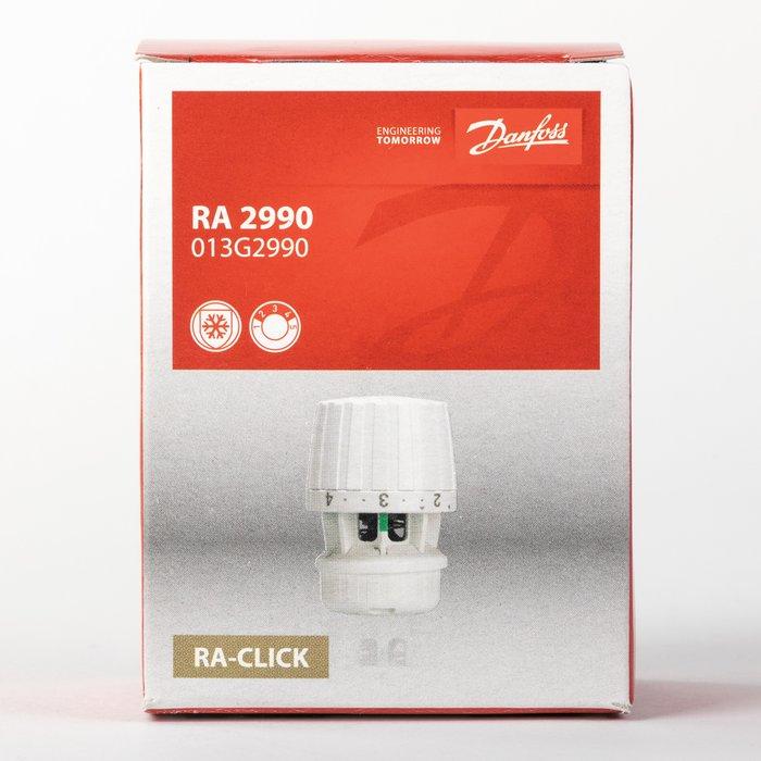 Tête de robinet thermostatique RA 2990 de radiateur - Bulbe incorporé-2