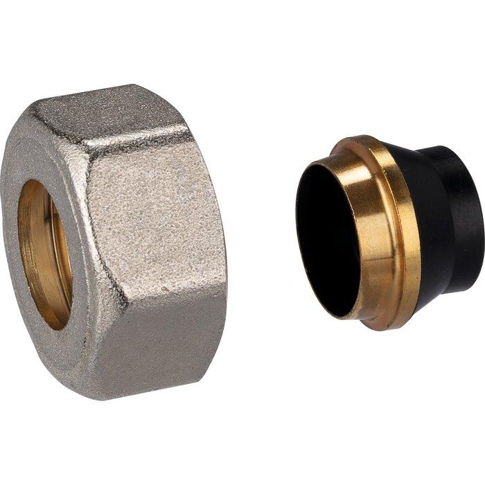 Raccord écrou de radiateur - Pour tube acier-2